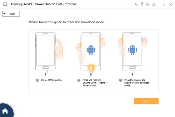 Pobierz pakiet, aby naprawić system Android