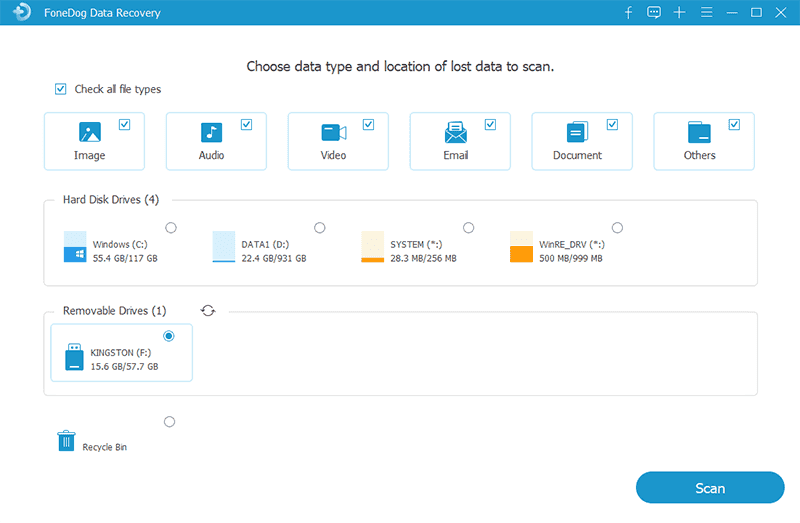 Choose the Data Type and Your Partition
