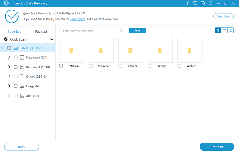 Scan Your Partition