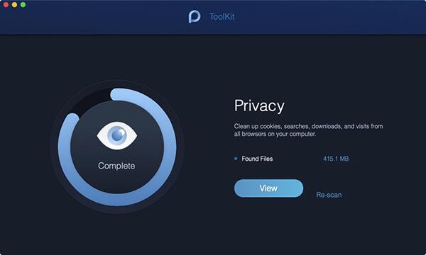 skanowanie prywatności