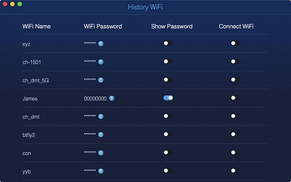hasło przeglądania sieci Wi-Fi