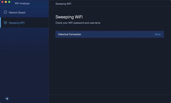 przeglądarka zamiatania sieci Wi-Fi