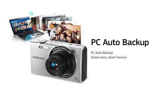 Automatyczna kopia zapasowa PC do Samsung Smart Camera
