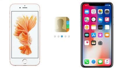przenieś kontakt z iPhone'a na iPhone'a