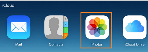Select All in iCloud Photos through iCloud App