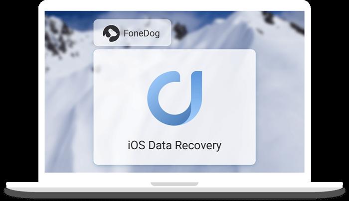 banner odzyskiwania danych iOS