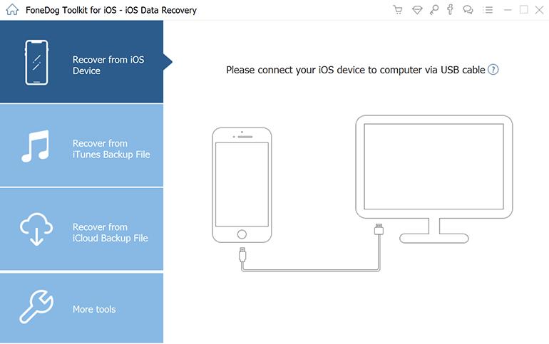 Odzyskaj dane z iPhone'a